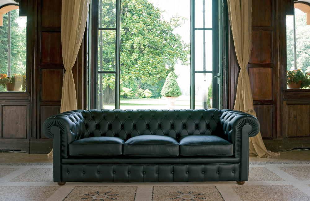 Canapé Richmond de la collection Chesterfield BertO