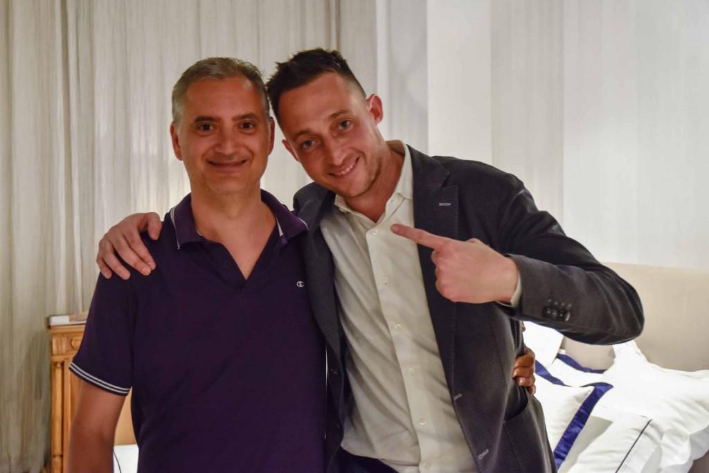 Paolo Ferrara et Filippo Berto