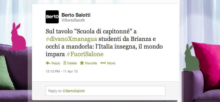 Le tweet du BertO: divanoXmanagua
