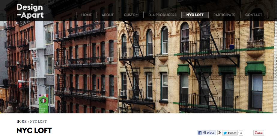 New York living showroom project Design-Apart - Berto