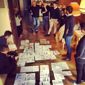 BertO à NYC: workshop sofa4manhattan