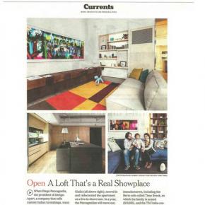 BertO et Design-Apart sur le New York Times