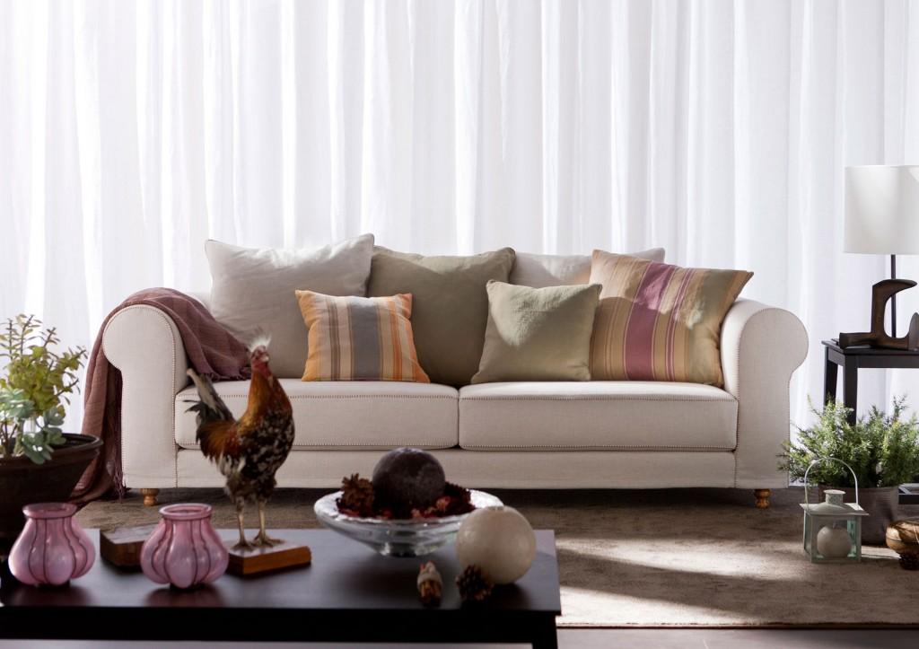 Canapè Classique Cambridge BertO - Coussins Etro