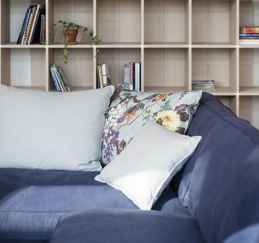 Canapè modulable Time Break - coussins Etro