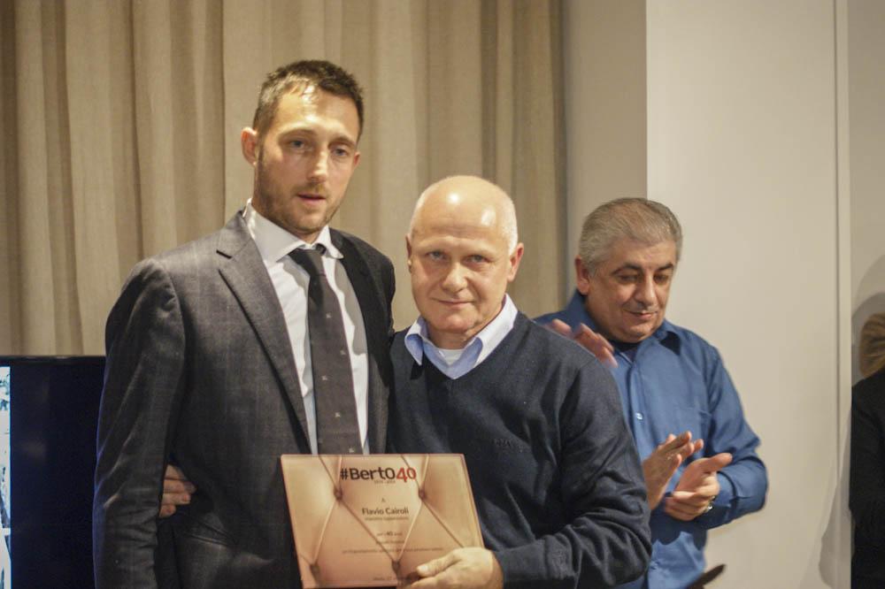 Filippo Berto et Flavio Cairoli - 40 ans