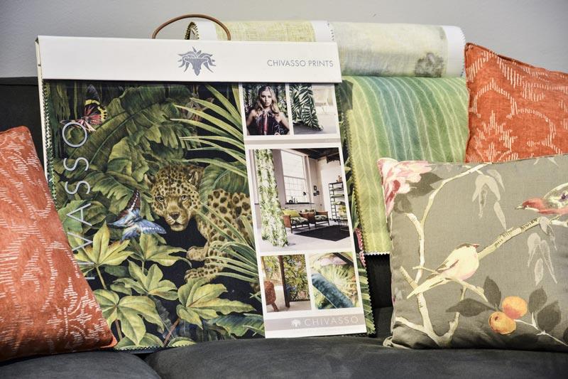 Les tissus chivasso dans la collection textile BertO