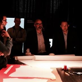 stefani micelli curatore new craft insieme a Filippo Berto