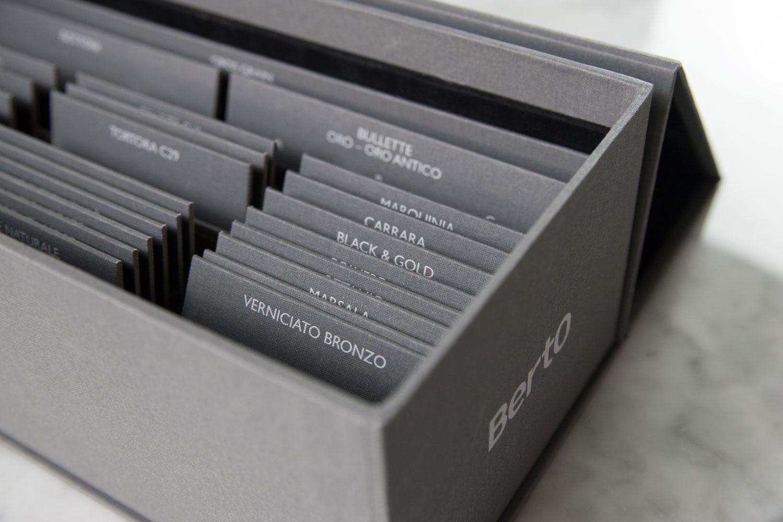 Box sartoriale BertO per designers, architetti e professionisti