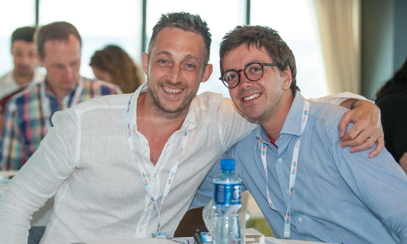 Filippo Berto a Dublino Google Ambassador