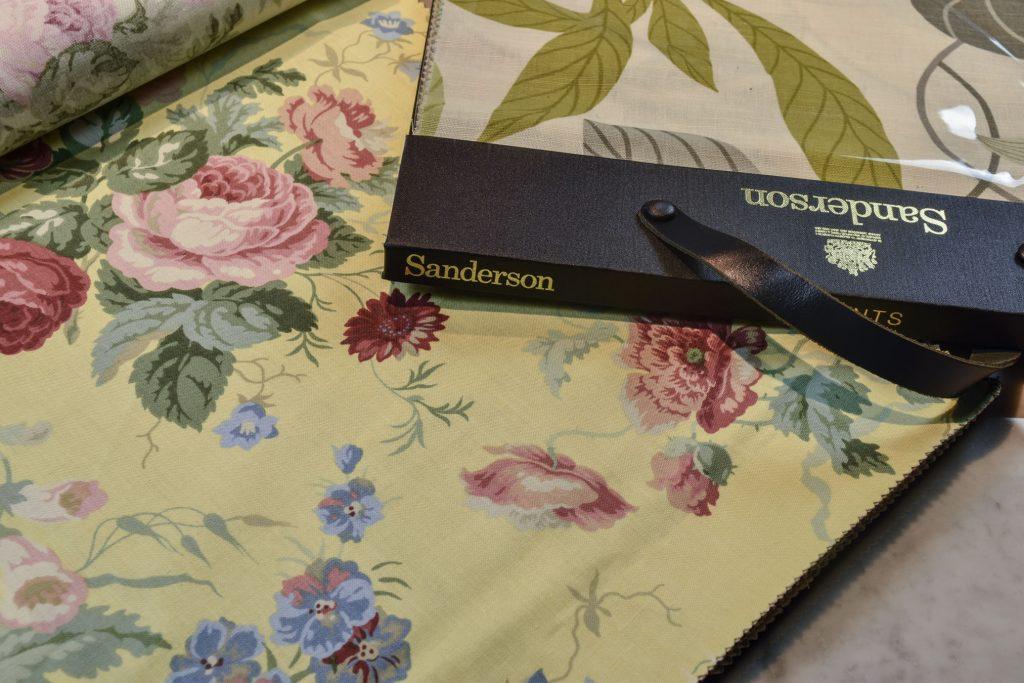 Tissus Sanderson Collection BertO Textile