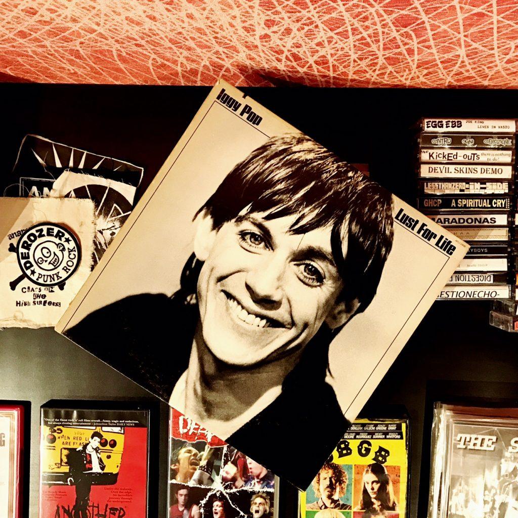 #Bertolive Iggy Pop vinyle punk rock music