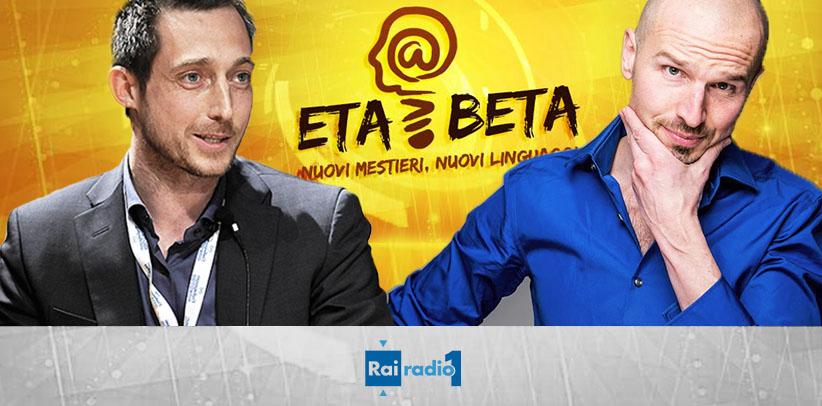 Eta Beta, radio Rai 1 filippo berto