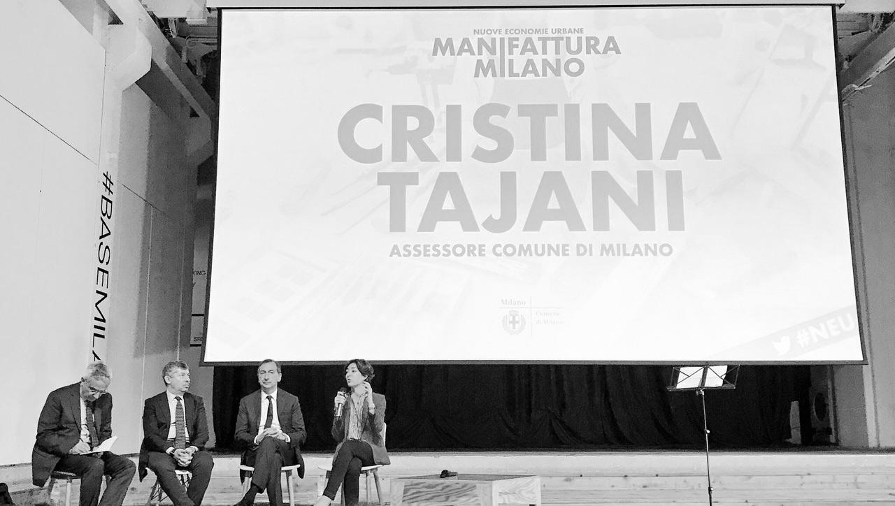 Assessore Cristina Tajani manifattura milano