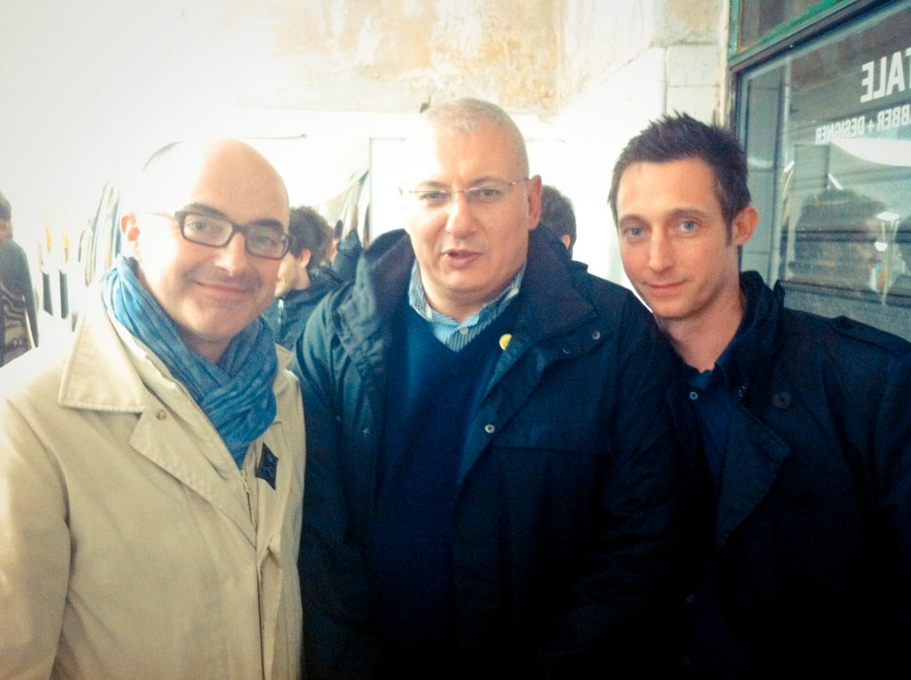 Stefano Micelli, Stefano Maffei et Filippo Berto