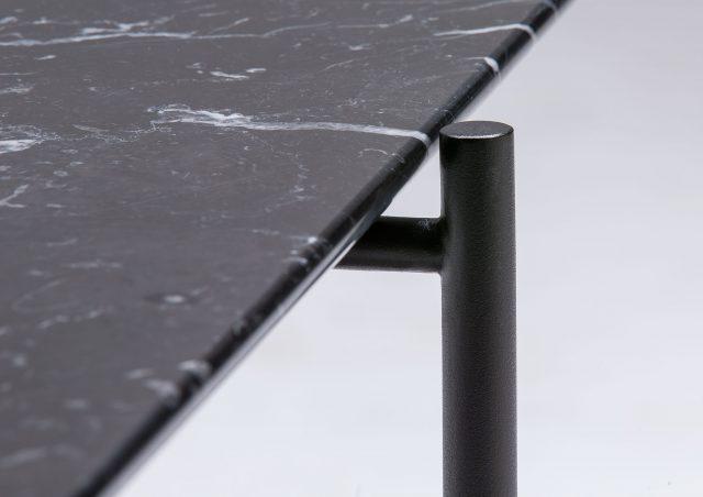 table basse Riff en marbre marquinia