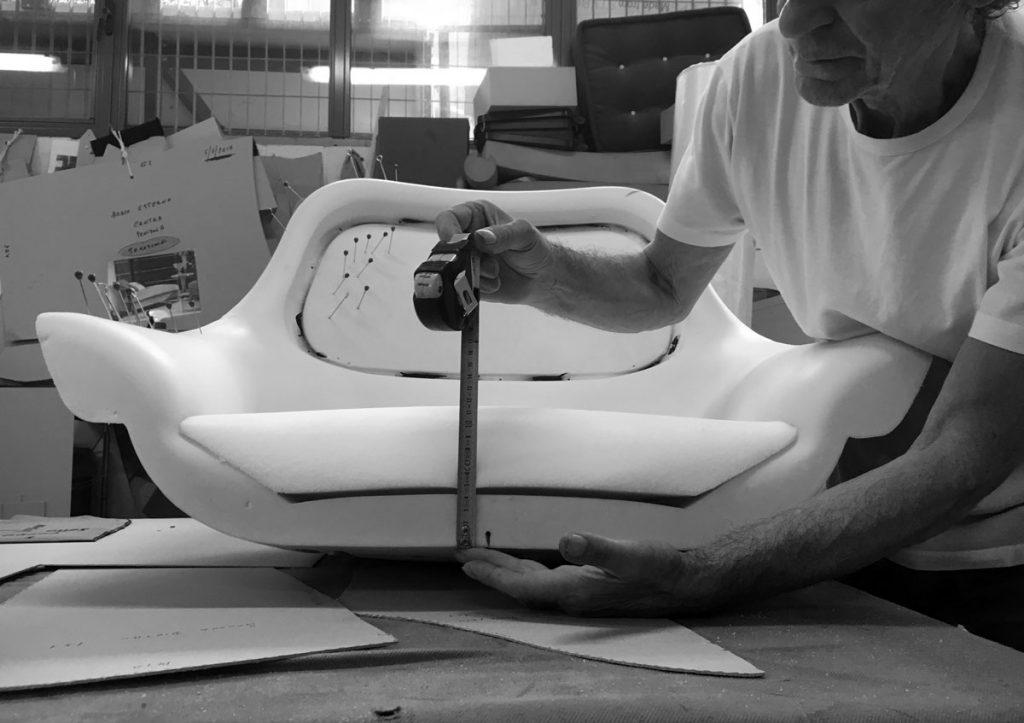 Le prototype du fauteuil moderne Hanna