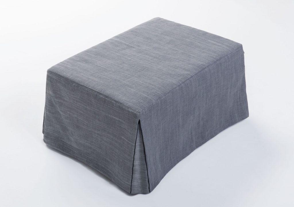 Le pouf Paguro de BertO est un lit français pratique