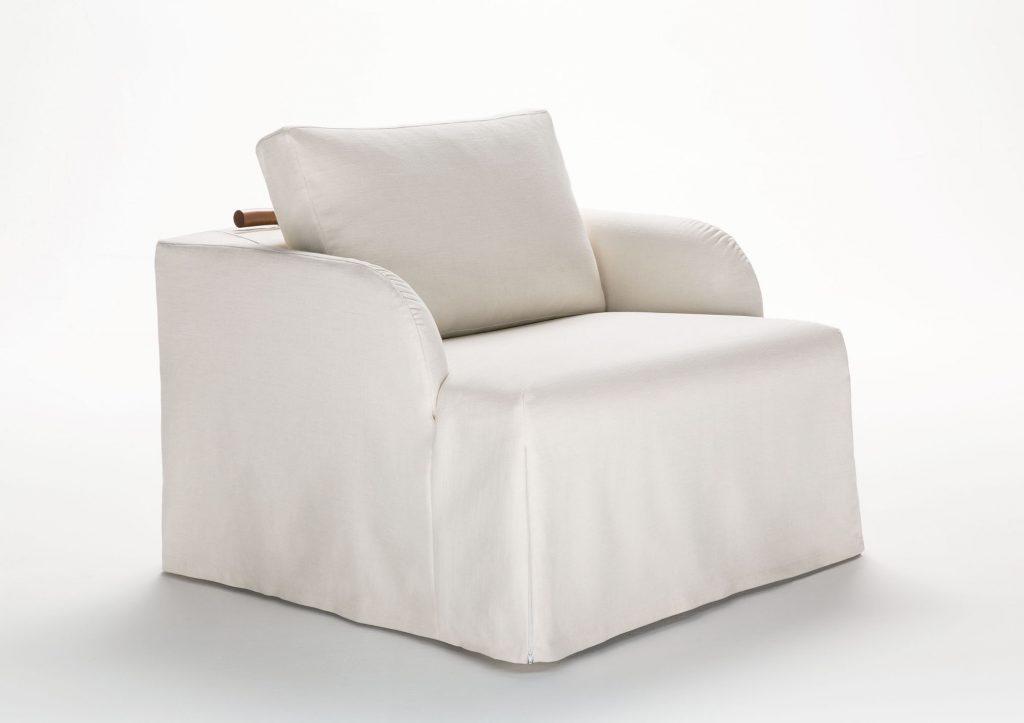 Fauteuil convertible au lit Flora par Berto Salotti