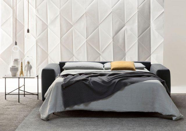 canapè lit Passepartout avec matelas a ressorts berto salotti