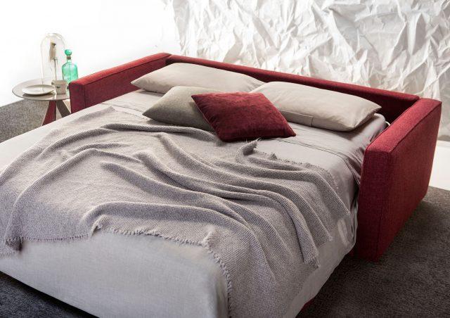 Canapé lit Robinson avec matelas en mousse de polyuréthane berto salotti