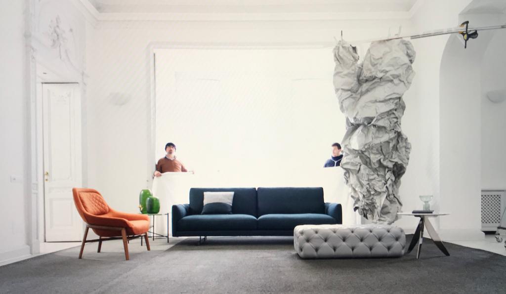 Projet photographique dédié au canapé Dee Dee