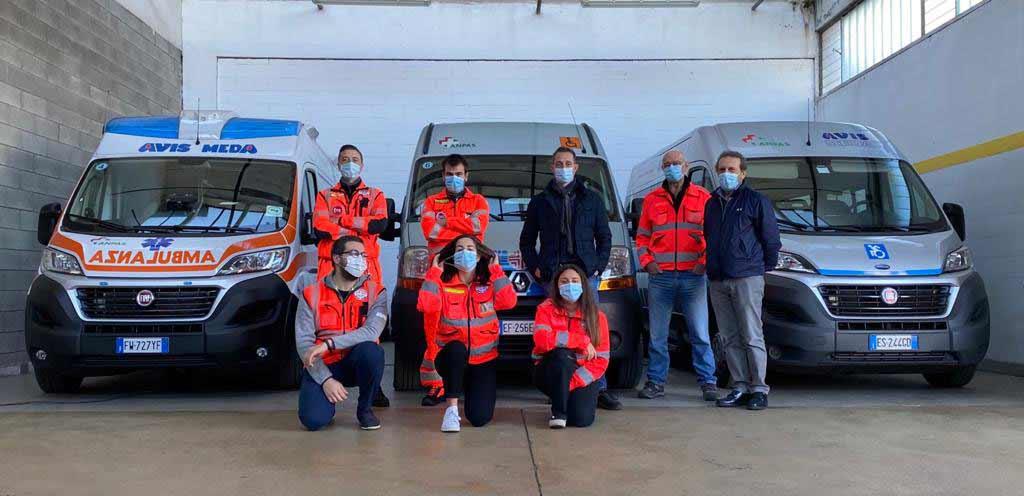 Les volontaires de l'Avis de Meda et Filippo Berto Featured image