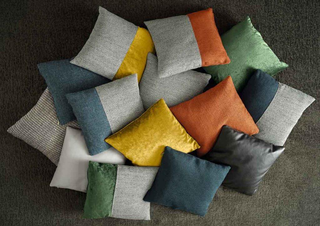 Collection de coussins décoratifs pour canapé