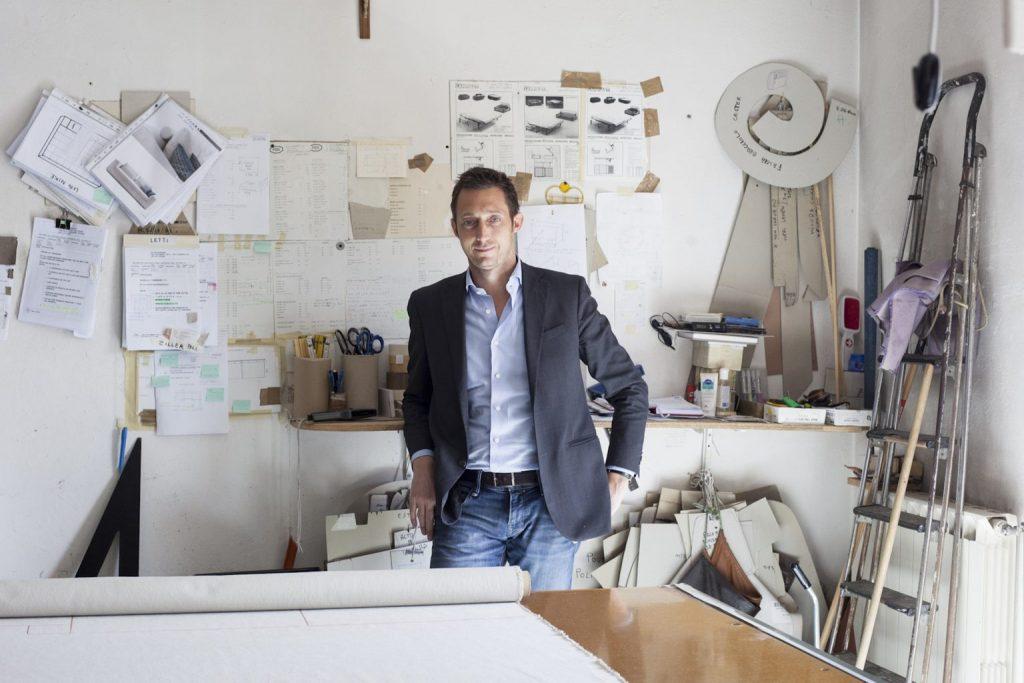 Filippo Berto, auteur du blog BertoStory premier blog d'entreprise de design