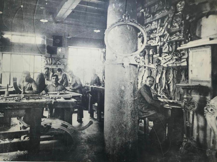 L'atelier historique Boga, médaille d'or pour la sculpture