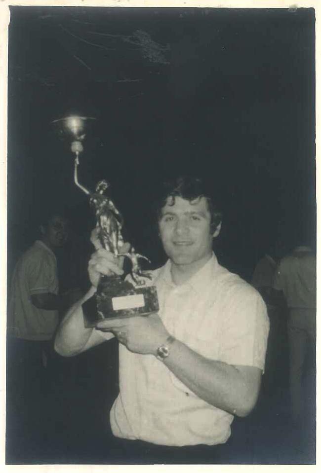Carlo Berto dans les années 70