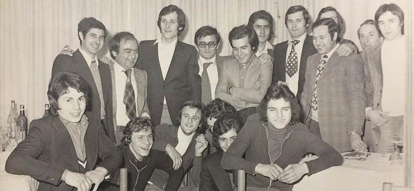 Fioravante et Carlo berto en brianza années 70