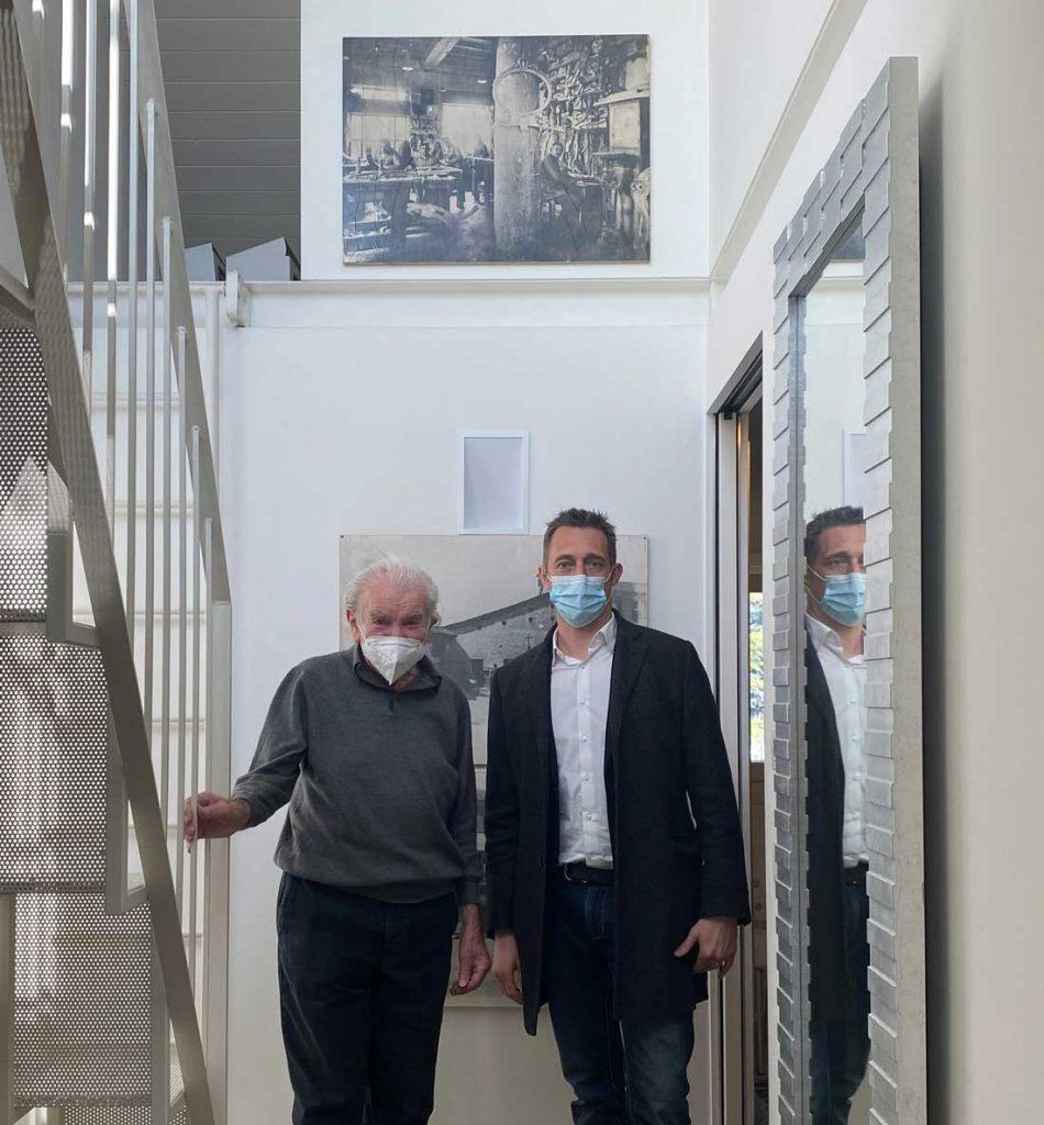 Rencontre: Eugenio Boga et Filippo Berto pour le projet Made in Meda
